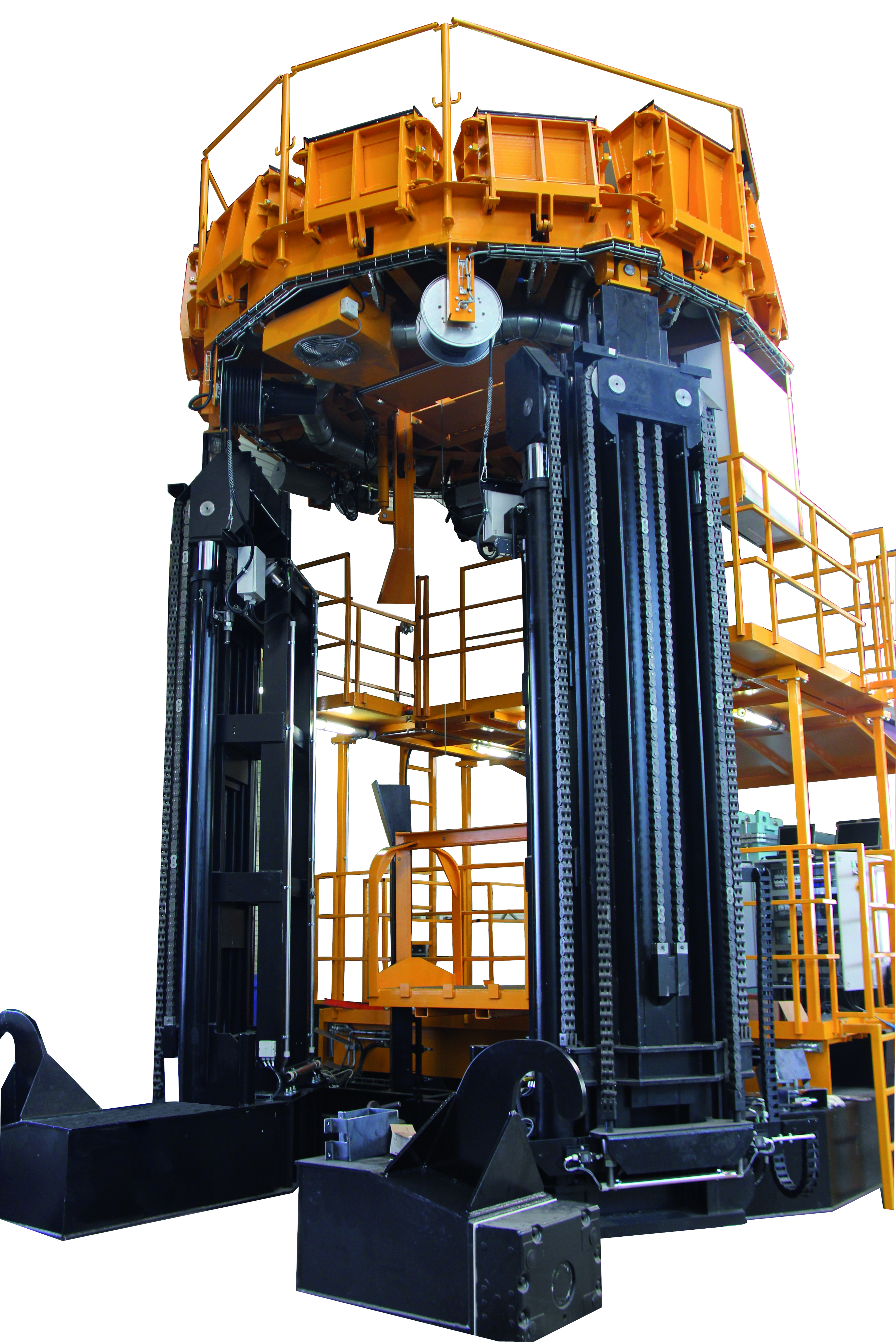 Telescopic lifting unit