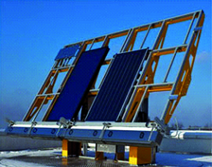 Double lifting system - solar handling