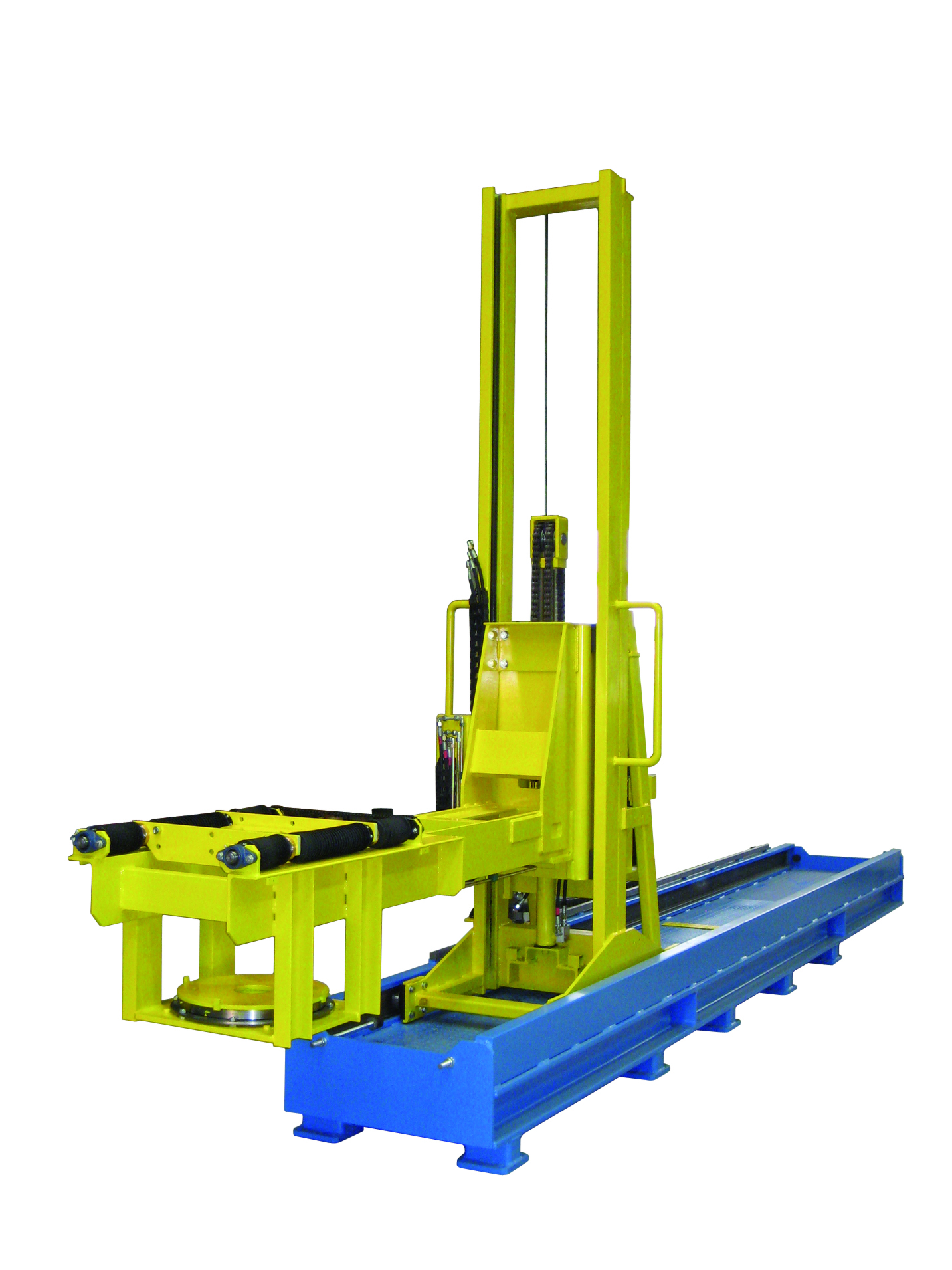 Drive and lifting system - steel industry